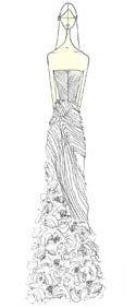 Vera Wang wedding gown Kassia Spring 2013
