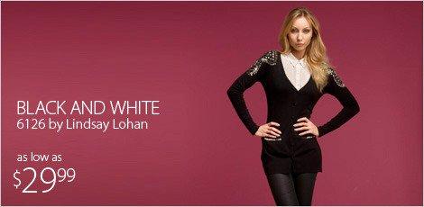Black & White: 6126 by Lindsay Lohan
