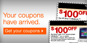 Your  coupons have arrived. Get your coupons