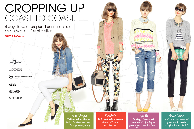 CROPPING UP COAST TO COAST. SHOP NOW