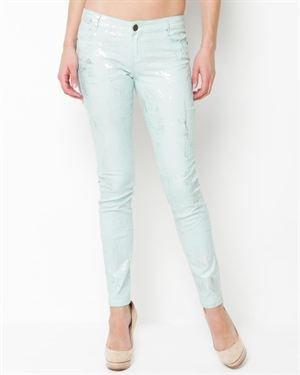 Vanilla Star Metallic Skinny Jeans