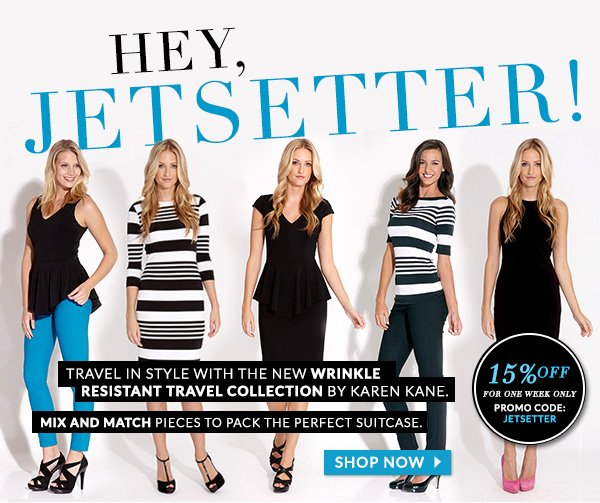 15% Off Travel Collection