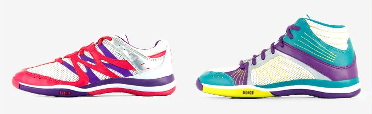 Brand New, Exceptionally Colorful Dance Sneakers!