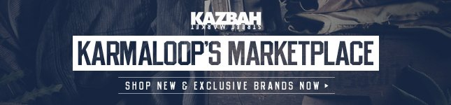 Karmaloop's Offical Marketplace, Kazbah Street Market. Shop Today for New and Exclusive Brands!