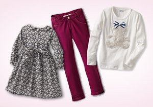 Up to 80% Off: Girl's Dresses, Jackets & More