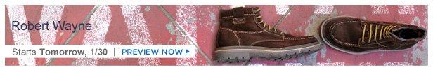 Robert Wayne Footwear is on HauteLook tomorrow 1/30