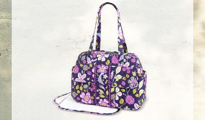 Baby Bag in Floral Nightingale