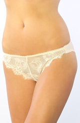 The Layers Lace Panty in Ivory