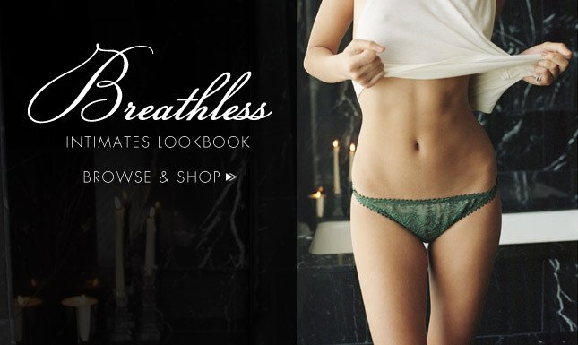 Browse & Shop Breathless Intimates Lookbook