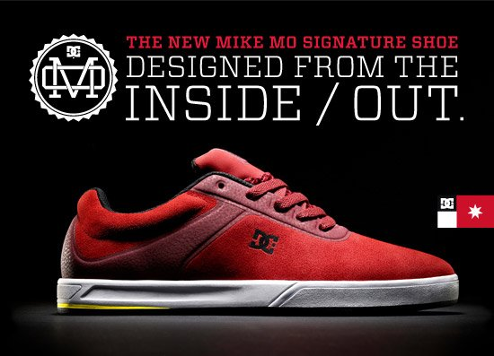 The New Mike Mo Signature Shoe - Designed from the inside / out.