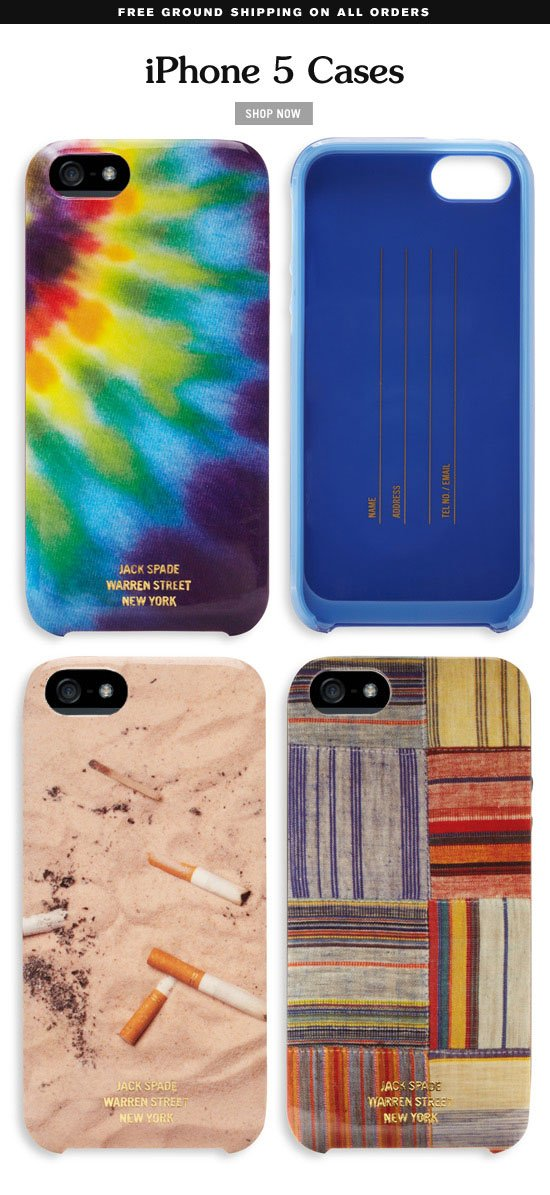 iphone 5 cases.  shop  now.