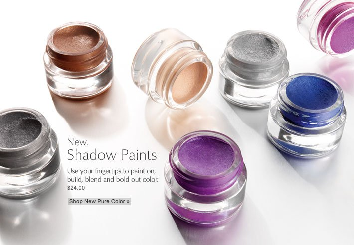 New.  Shadow Paints Use your fingertips to paint on,  build, blend and bold out color. Shop New Pure Color »  $24.00