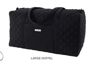 Large Duffel in Classic Black