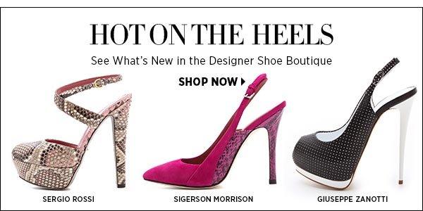 Shop Designer Boutique Shoes >>