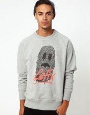 Le Fix Sweatshirt Ghost Print