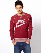 Nike Vintage Marl Crew Sweatshirt
