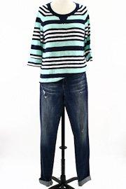 michael stars mint chip sweater