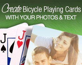 Make your own Bicycle playing cards!