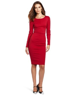 Robert Rodriguez <br/> Long Sleeve Fitted Pencil Dress