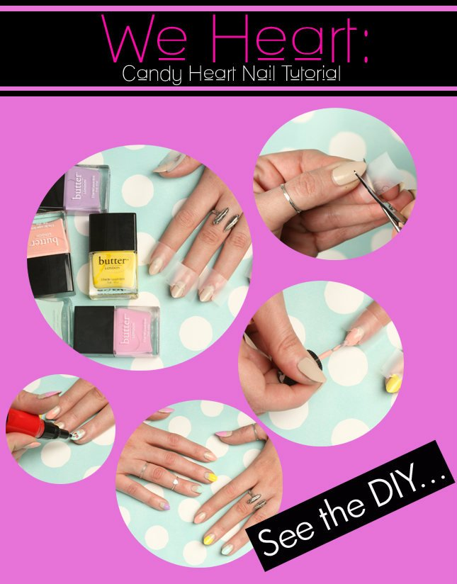 Candy Heart Nail Tutorial