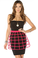 The Cut Out Skirt