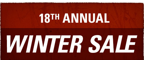 18th Annual Winter Sale!