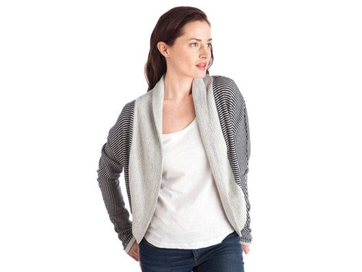 This cardigan is so fresh and easy to throw on. I love the slouchy, cozy feel and the shawl collar.