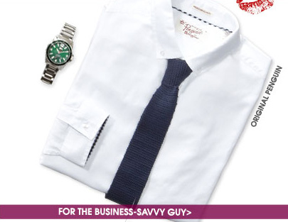 FOR THE BUSINESS-SAVVY GUY