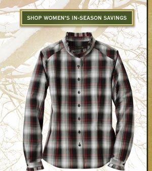 Shop woMen's In-Season Savings
