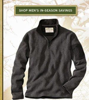 Shop Men's In-Season Savings
