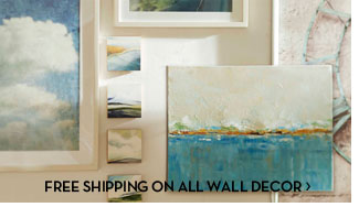 FREE SHIPPING ON ALL WALL DECOR