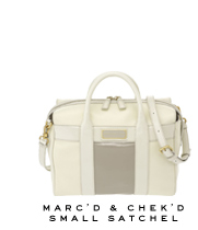 Marc by Marc Jacobs | Marc'd and Chek'd Small Satchel