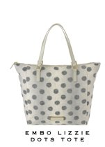 Marc by Marc Jacobs | Embo Lizzie Dots Tote
