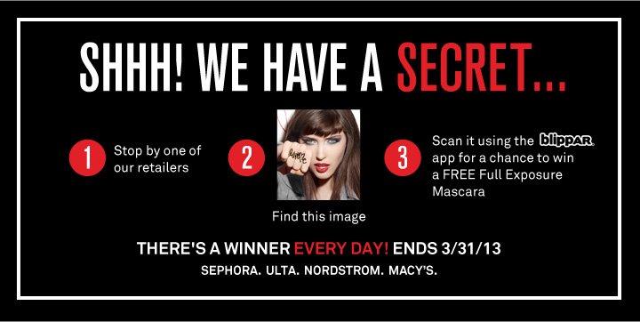 Shhh! We Have A Secret...
