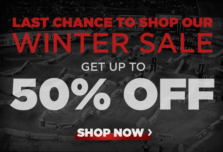 Last Chance to Shop Our Winter Sale