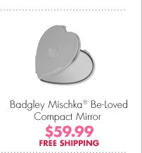 Badgley Mischka® Be-Loved Compact Mirror $59.99 FREE SHIPPING