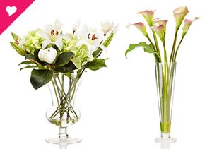 SET THE MOOD WITH FLOWERS