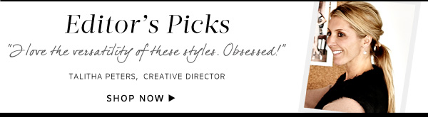 Shop Editor's Picks collection