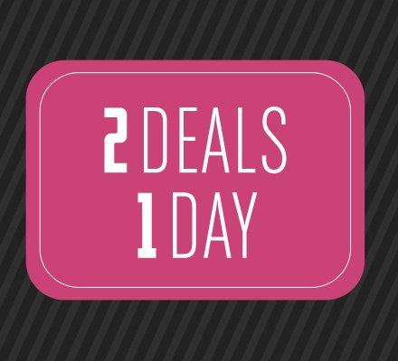 2 Deals 1 Day