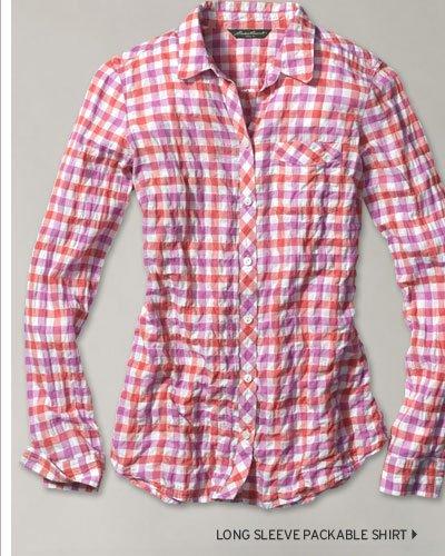 Long Sleeve Packable Shirt