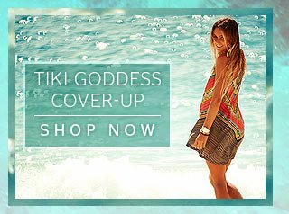 Tiki Goddess Cover-Up - Shop Now