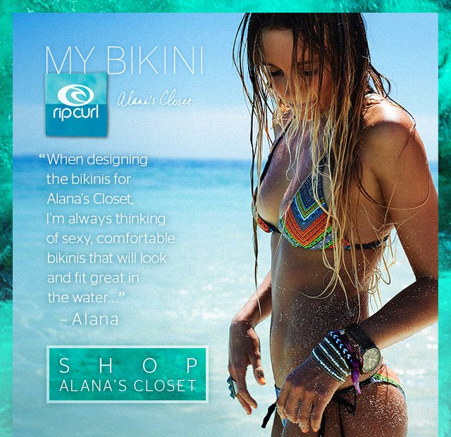 MY BIKINI - Alana's Closet - When designing the bikinis for Alana's Closet, I'm always thinking of sexy, comfortable bikinis that will look and fit great in the water...– Alana - Shop Alana's Closet