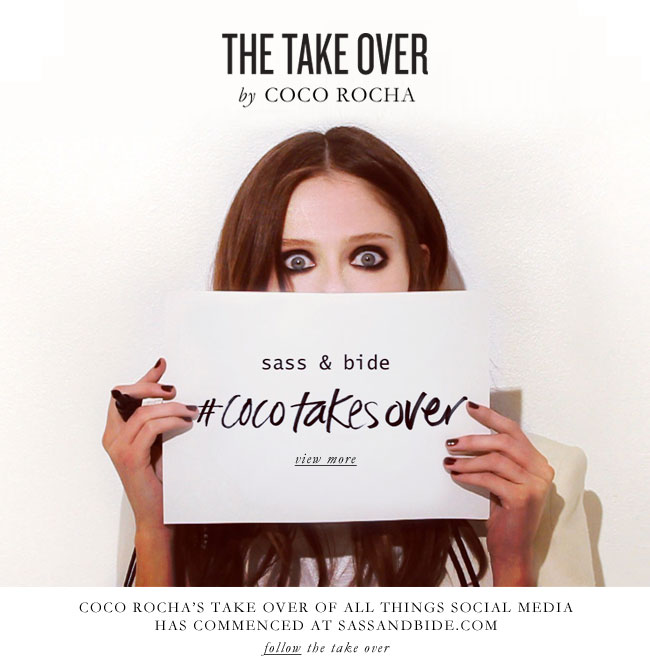 the take over...by coco rocha
