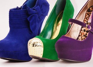 Rich Jewel Tone Shoes