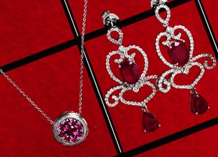 For Her: Ruby Jewelry