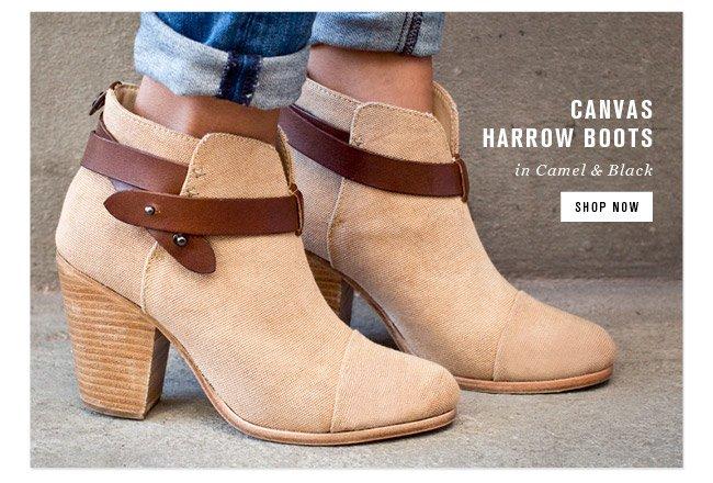 Canvas Harrow Boots