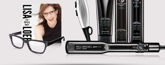 Sign up now for your chance to win Lisa's favorite Paul Mitchell products, plus a signed copy of No Fairy Tale and a pair of frames from her exclusive eyewear collection.