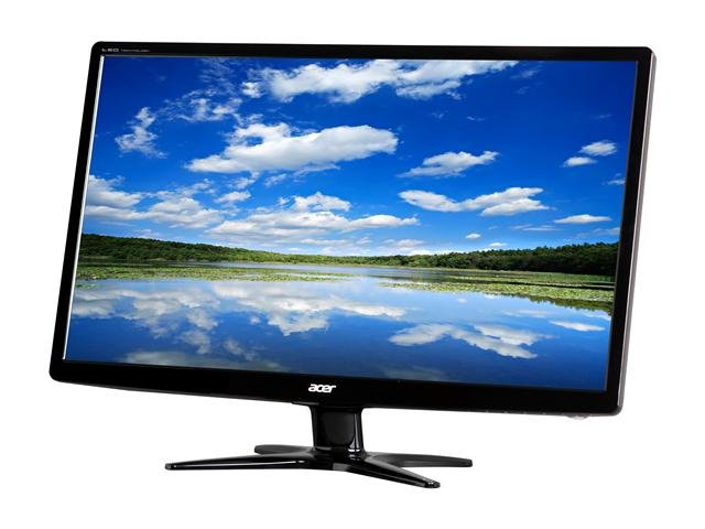 Acer G246HLAbd Black 24 inch 5ms Widescreen LED Monitor 250 cd/m2 ACM 100,000,000:1 (1000:1)