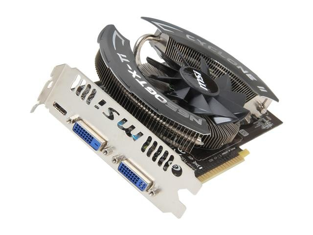 MSI Power Edition N650Ti PE 1GD5/OC GeForce GTX 650 Ti 1GB 128-bit GDDR5 PCI Express 3.0 x16 HDCP Ready Video Card