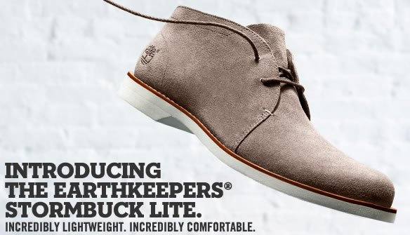 Introducing the Earthkeepers® Stormbuck Lite. Incredibly lightweight. Incredibly comfortable. Shop Stormbuck Collection